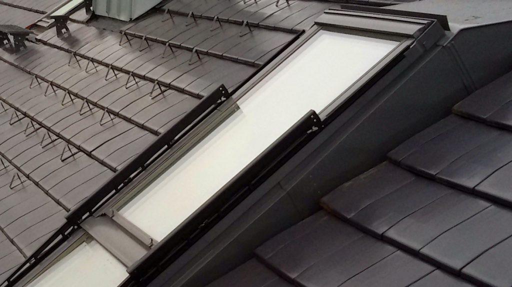 Wohnraumdachfenster mit Aufkeilrahmen
