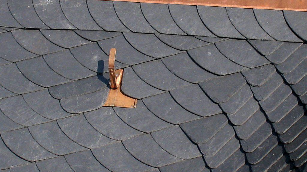 Dachhaken aus Kupfer