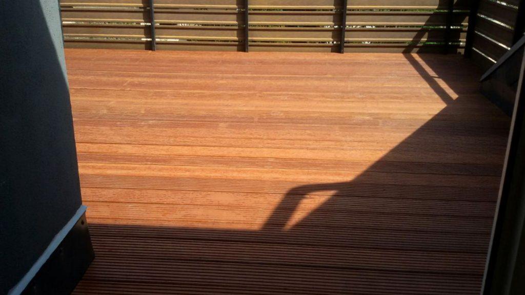 Die fertige Terrasse