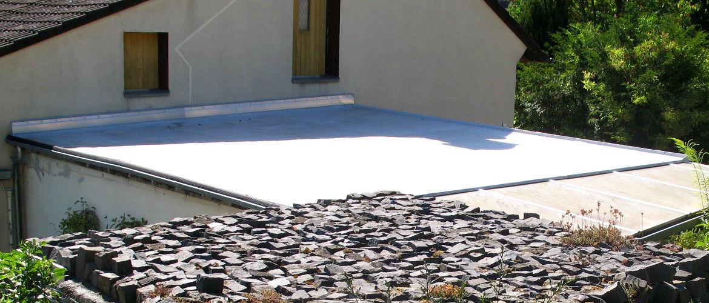 Abdichten eines Garagendaches und Spenglerarbeiten - Garage im Main-Taunus-Kreis