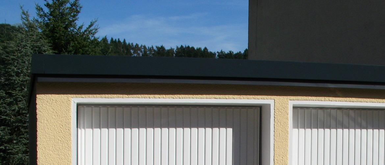 Sanierung eines Garagendaches - Garage im Rheingau-Taunus-Kreis